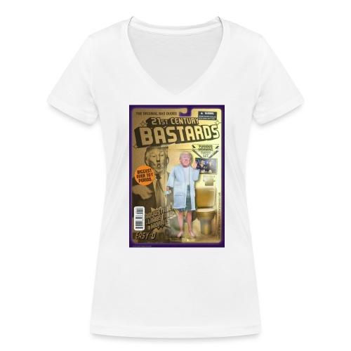 DT1large - Women's Organic V-Neck T-Shirt by Stanley & Stella
