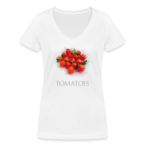 Tomatoes - T-shirt bio col V Stanley & Stella Femme