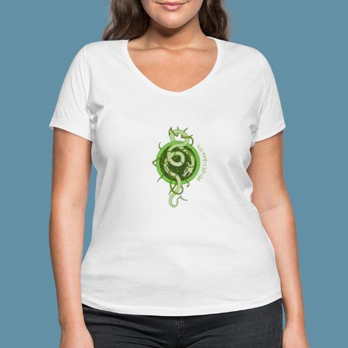 Jormungand logo png - T-shirt ecologica da donna con scollo a V di Stanley & Stella