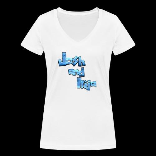 Josh and Ilija - Women's Organic V-Neck T-Shirt by Stanley & Stella
