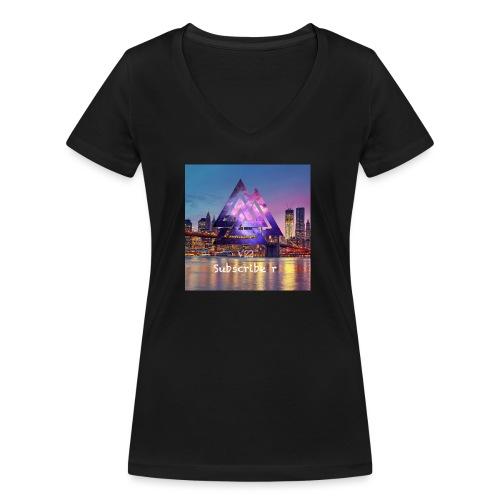 10F9E8E4 EFC0 46A6 A8B1 21E85A91EB34 - Ekologisk T-shirt med V-ringning dam från Stanley & Stella