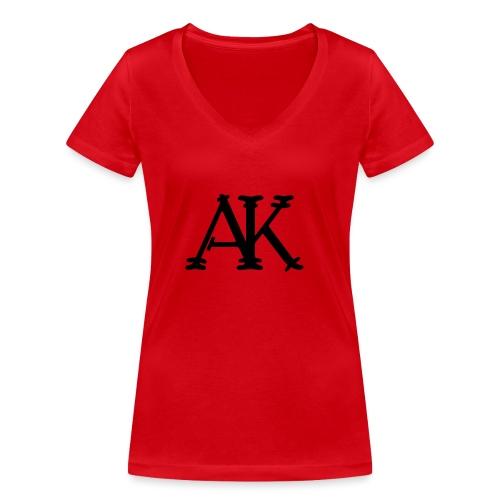 Brand logo - Vrouwen bio T-shirt met V-hals van Stanley & Stella