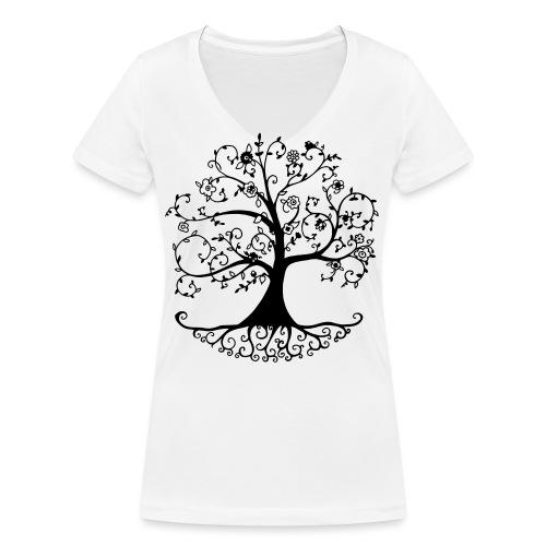 arbre de vie - T-shirt bio col V Stanley & Stella Femme