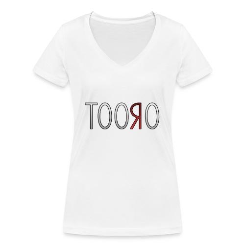Tooro png - Frauen Bio-T-Shirt mit V-Ausschnitt von Stanley & Stella