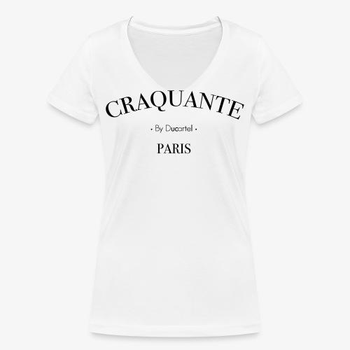 Craquante - T-shirt bio col V Stanley & Stella Femme