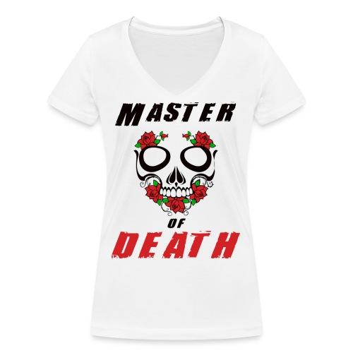 Master of death - black - Ekologiczna koszulka damska z dekoltem w serek Stanley & Stella