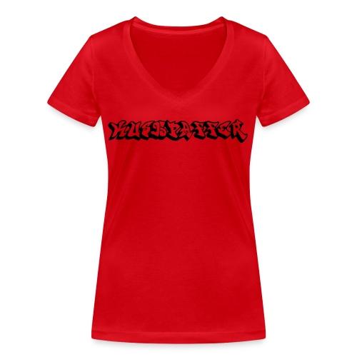 kUSHPAFFER - Women's Organic V-Neck T-Shirt by Stanley & Stella