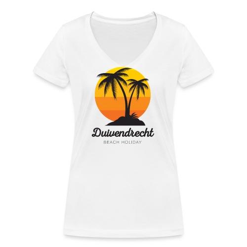 Duivendrecht - Vrouwen bio T-shirt met V-hals van Stanley & Stella