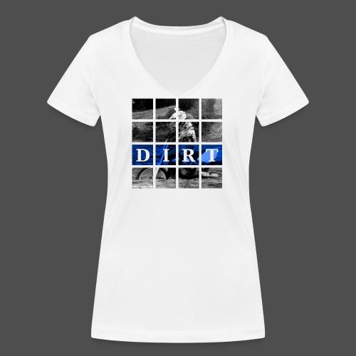 Dirt BL 19 - Ekologiczna koszulka damska z dekoltem w serek Stanley & Stella
