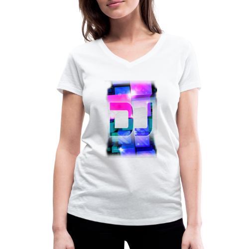 DJ by Florian VIRIOT - T-shirt bio col V Stanley & Stella Femme