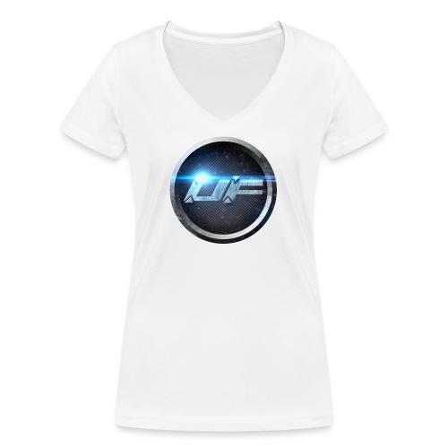 UF Logo - Frauen Bio-T-Shirt mit V-Ausschnitt von Stanley & Stella