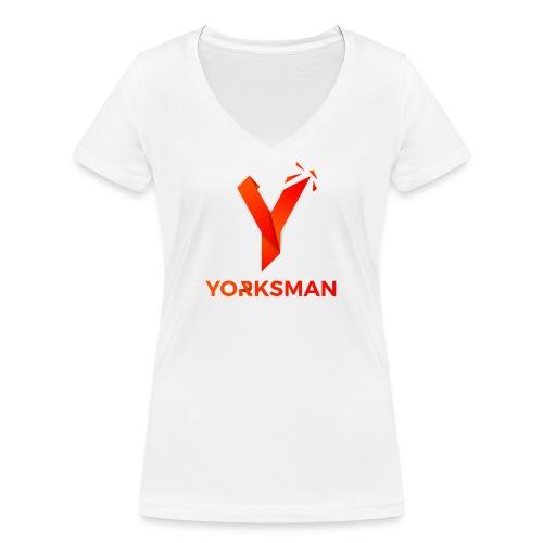 THeOnlyYorksman's Teenage Premium T-Shirt - Women's Organic V-Neck T-Shirt by Stanley & Stella