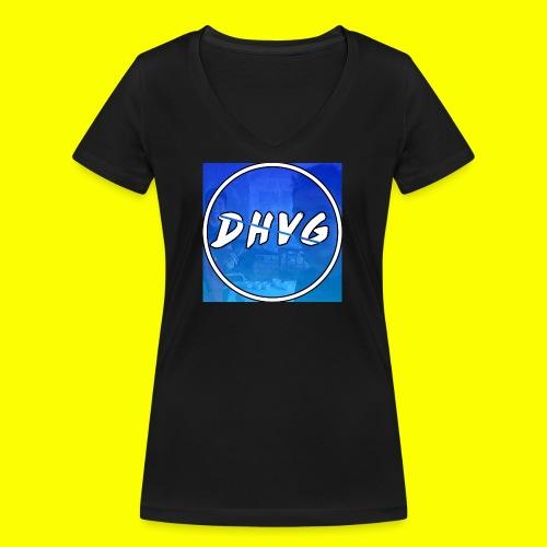DusHeelVeelgamen New T shirt - Vrouwen bio T-shirt met V-hals van Stanley & Stella