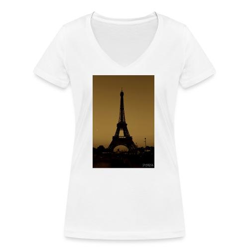 Paris - Women's Organic V-Neck T-Shirt by Stanley & Stella