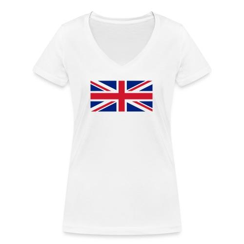 United Kingdom - Women's Organic V-Neck T-Shirt by Stanley & Stella