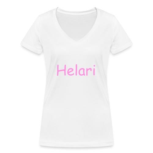Helari Merch - Stanley & Stellan naisten v-aukkoinen luomu-T-paita