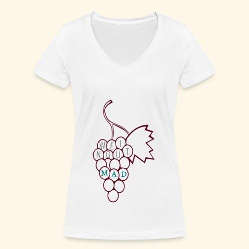 Traube - Frauen Bio-T-Shirt mit V-Ausschnitt von Stanley & Stella