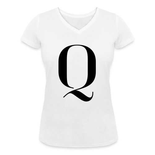 Q - Women's Organic V-Neck T-Shirt by Stanley & Stella