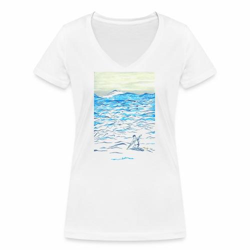 EVOLVE - Women's Organic V-Neck T-Shirt by Stanley & Stella