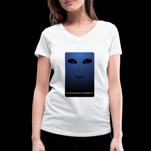 Frieden - Frauen Bio-T-Shirt mit V-Ausschnitt von Stanley & Stella