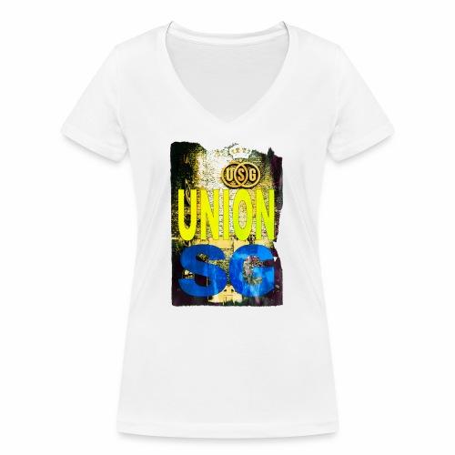 UNION SG - Vrouwen bio T-shirt met V-hals van Stanley & Stella