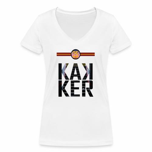 KAKKER - Vrouwen bio T-shirt met V-hals van Stanley & Stella