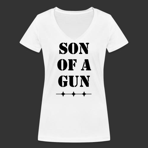 Son of a gun - Frauen Bio-T-Shirt mit V-Ausschnitt von Stanley & Stella