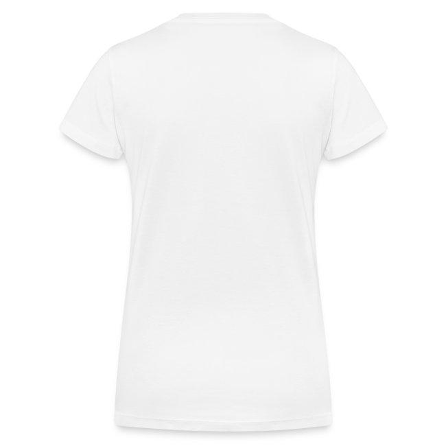 Vorschau: kater katze mooning finger - Frauen Bio-T-Shirt mit V-Ausschnitt von Stanley & Stella