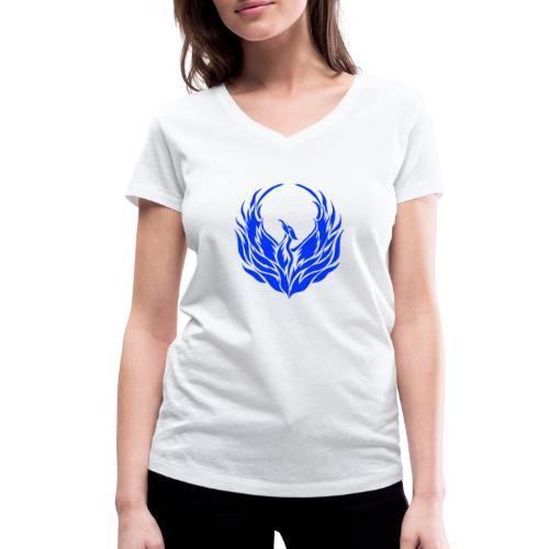 Phoenix1 - Frauen Bio-T-Shirt mit V-Ausschnitt von Stanley & Stella
