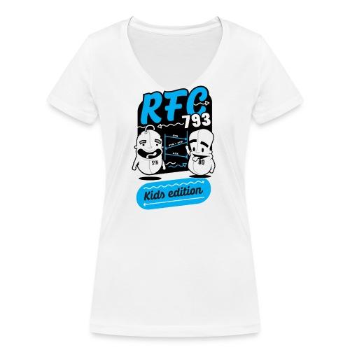 RFC 793 Kids Edition - Women's Organic V-Neck T-Shirt by Stanley & Stella