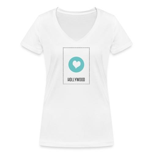 I Love Hollywood - Frauen Bio-T-Shirt mit V-Ausschnitt von Stanley & Stella