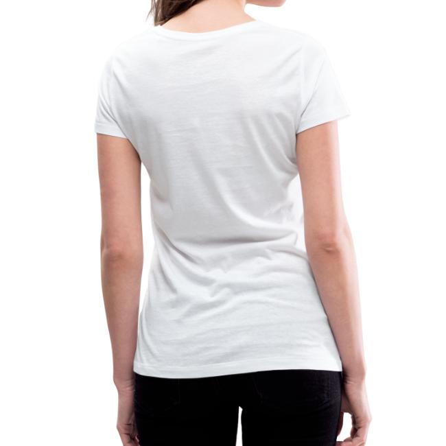 Vorschau: I hobs guad i hob di - Frauen Bio-T-Shirt mit V-Ausschnitt von Stanley & Stella