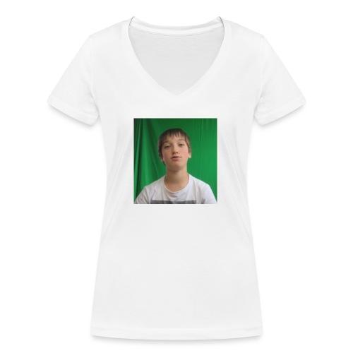 Game4you - Vrouwen bio T-shirt met V-hals van Stanley & Stella