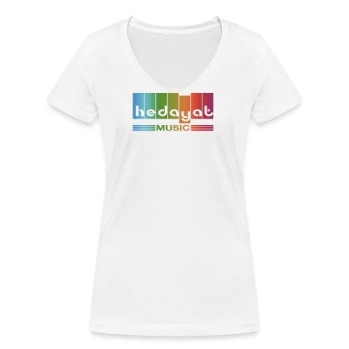 logo-couleur - T-shirt bio col V Stanley & Stella Femme