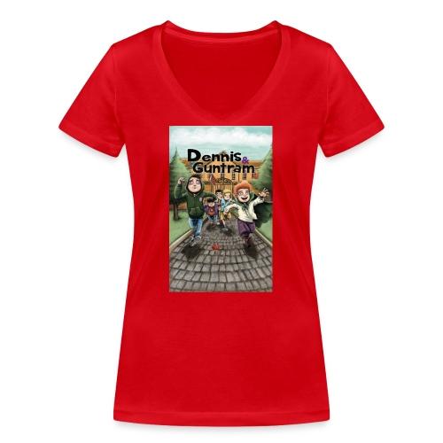 DuG-Band1-Kurztitel - Frauen Bio-T-Shirt mit V-Ausschnitt von Stanley & Stella