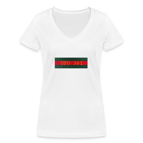 Deine Outfits - Frauen Bio-T-Shirt mit V-Ausschnitt von Stanley & Stella