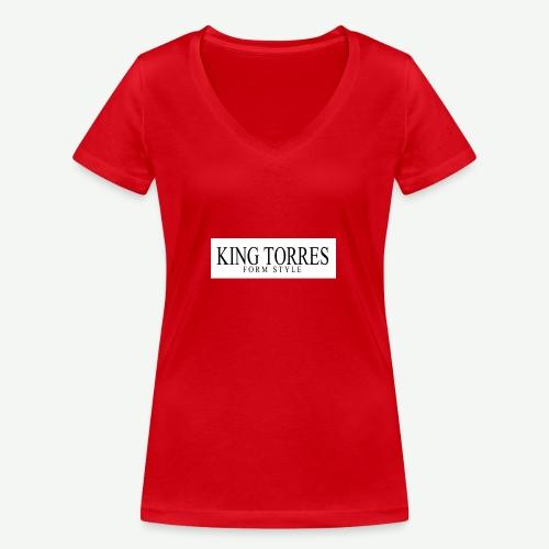 king torres - Camiseta ecológica mujer con cuello de pico de Stanley & Stella