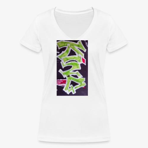 15279480062001484041809 - T-shirt bio col V Stanley & Stella Femme