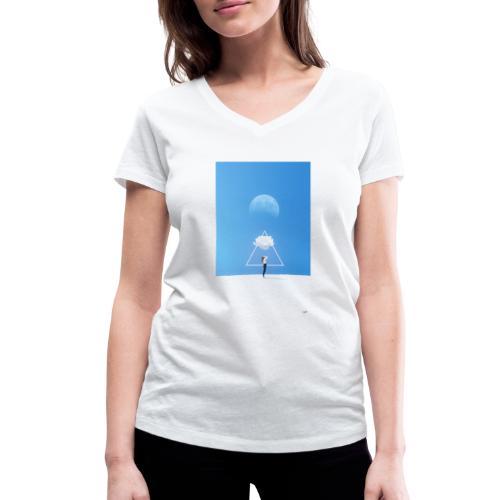 magestic blind - Camiseta ecológica mujer con cuello de pico de Stanley & Stella