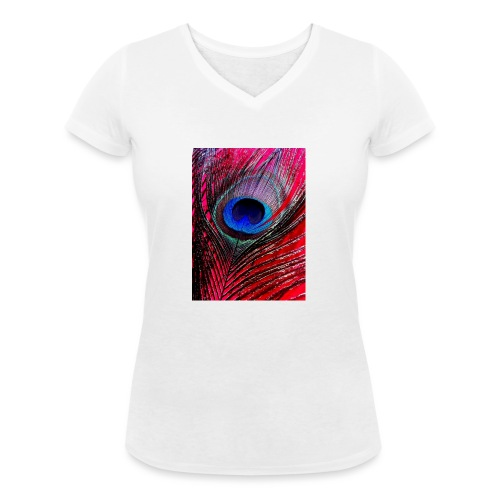 Beautiful & Colorful - Women's Organic V-Neck T-Shirt by Stanley & Stella