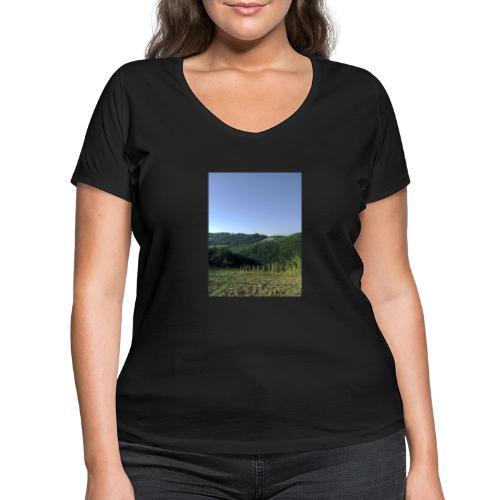 Panorama - T-shirt ecologica da donna con scollo a V di Stanley & Stella