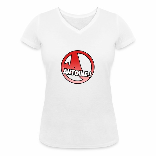 Le Logo Antoine ! - T-shirt bio col V Stanley & Stella Femme