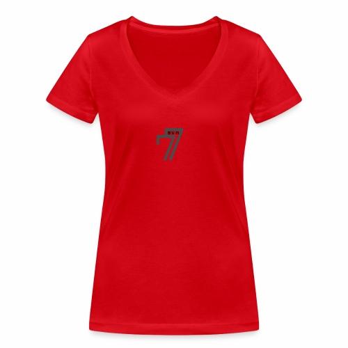BORN FREE - Women's Organic V-Neck T-Shirt by Stanley & Stella