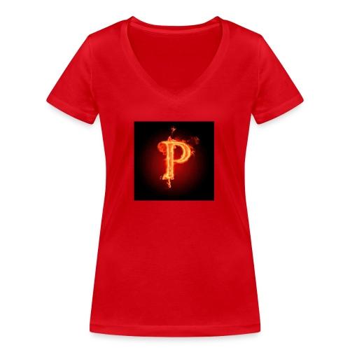 Power player nuovo logo - T-shirt ecologica da donna con scollo a V di Stanley & Stella