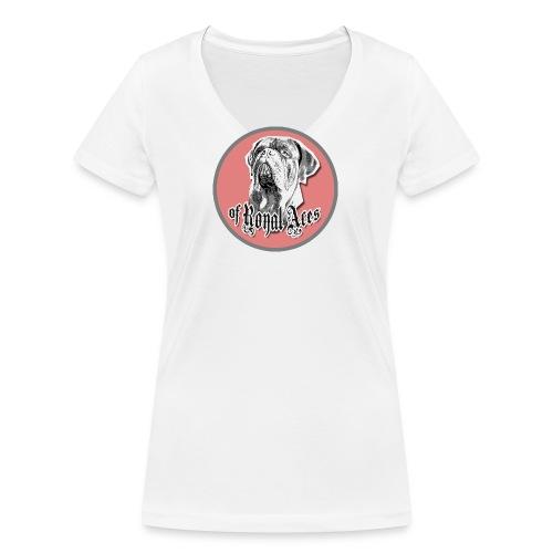 bx ra 04 - Frauen Bio-T-Shirt mit V-Ausschnitt von Stanley & Stella