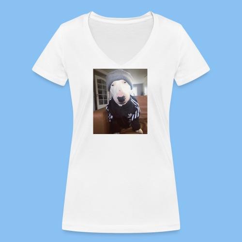 Fosterrier - Camiseta ecológica mujer con cuello de pico de Stanley & Stella