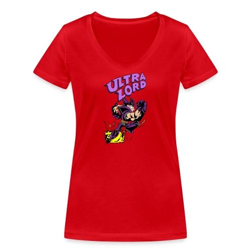 Sheen s Ultra Lord - Stanley & Stellan naisten v-aukkoinen luomu-T-paita