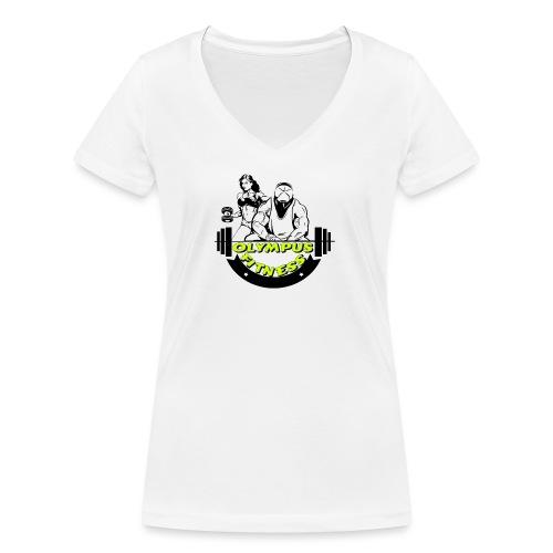 iPiccy Design - T-shirt ecologica da donna con scollo a V di Stanley & Stella