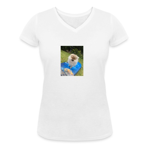 Surfa - Ekologisk T-shirt med V-ringning dam från Stanley & Stella