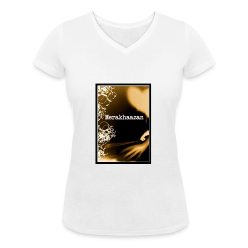 merajaunecadre jpg - T-shirt bio col V Stanley & Stella Femme